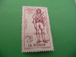 TIMBRE   REUNION   N  176     COTE  1,80  EUROS    NEUF  TRACE  CHARNIERE - Nuevos