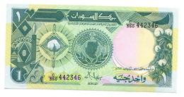Sudan UNC One Pound Banknote - Soudan