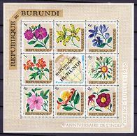Burundi 1967  Blok Nr 17 **, Zeer Mooi Lot 3956 - Burundi