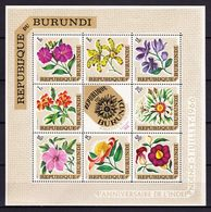 Burundi 1967  Blok Nr 17 **, Zeer Mooi Lot 3957 - Burundi