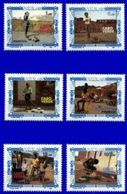 CAPE VERDE, 1989, CHRISTMAS, CE#213-219, MNH - Cap Vert