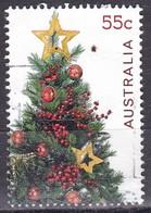 Australia, 2011 - 55c Star On Christmas Tree - Nr.3599 Usato° - 2010-... Elizabeth II