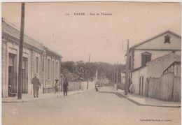 Cpa,sénégal,dakar,rue De Thalmat,ancienne Capitale De L'afrique Occidentale,afrique,africa - Sénégal