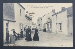 CPA Carte Postale FROSSAY - Lehaut Du Bourg - Arrivée Par La Route De Vue - Frossay