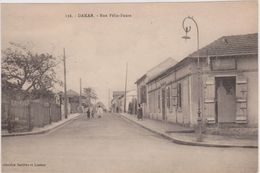Afrique,sénégal,dakar,rue   Félix-faure,ville De Léopold Sédar Sengor,collection Barthès Et Lesieur - Sénégal