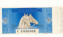 Billet Loterie Nationale 1939 - Grand Prix De Paris - Lottery Tickets