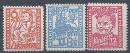 ALLEMAGNE - Mecklenbourg-Poméranie - 1945 - Bienfaisance N° 22/24 - Neufs Sans Charnière - XX - MNH - TB - - Zone Soviétique