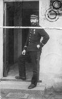 1918 / CARTE PHOTO / LIEUTENANT 6e RG ( ANGERS ) / INTERLAKEN ??? HOTEL BERNERHOF ??? 6e RÉGIMENT DU GENIE - War, Military