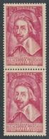 BS-271: FRANCE:  Lot  Avec N°305** En Paire Verticale - Unused Stamps