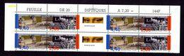 France Haut De Feuille Avec 2 Bandes 2852B Neuves ** MNH Louvre Voir Scan - Ungebraucht
