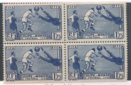 BS-272: FRANCE:  Lot  Avec N°396** En Bloc De 4 - Unused Stamps