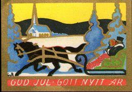 Mini AK - ARTIST SIGNED: AinA - Sweden - GOD JUL - KERST - CHRISTMAS - UNUSED - Non Classificati