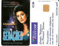 Portugal - Phonecard/ Telécarte Telecom Card /  STAR TREK   Nuevo/UNC - Portugal
