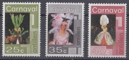 Nederlandse Antillen - Carnaval - Carnaval Door De Straten Van Willemstad, Curaçao - MNH - NVPH 531-533 - Carnaval