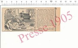 Presse 1905 Publicité Piano Mécanique Limonaire Frères Rue Daumesnil Paris Musique Ancien Instrument  216PF10K - Unclassified