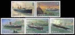 ROYAUME UNI (JERSEY) - Centenaire Des Liaisons Maritimes Great Western Railway - Jersey