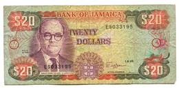 1989 Jamaica $20 Banknote - Jamaica