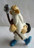FIGURINE PLASTOY ASTERIX 1997 PANORAMIX Chaudron Et Cuillière (2) - Asterix & Obelix