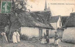 VILLIERS LE MORHIER - Une Chaumière - Other Municipalities