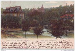 ALLEMAGNE GRUSS AUS KAISERSLAUTERN VILLEN 1903 CPA BON ÉTAT - Kaiserslautern