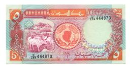 Sudan UNC 5 Pounds Banknote - Soudan