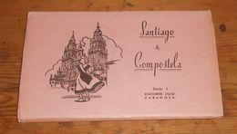 Dépliant De Cartes Postales. Santiago De Compostela. - Espagne