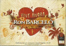 CARTOLINA - VIVE AHORA - RON BARCELO' RUN DOMENICANO - Non Classificati