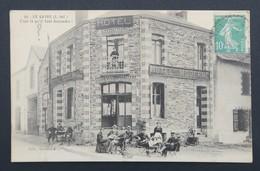 CPA Carte Postale LE GAVRE - C'est Là Qu'il Faut Descendre - Hotel Moderne - Le Gavre