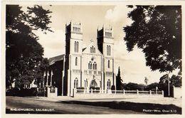 "Postcard Áustria. ""Churh. Salisbury"" - Salzburg Stadt"