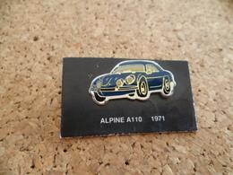 Pin's ** Automobile Alpine A 110 - 1971 ** Voiture, Auto Rallye Course - Rallye
