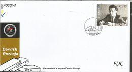 KOS 2016-07 DERVISH ROSHAJA, KOSOVO, FDC - Kosovo