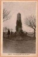 67 / Lot De 2 Cartes : WOERTH - Monuments  Henri De Lacarre Et Du Cuirassier (années 20-30) - Woerth