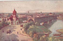 Cp , 67 , STRASBOURG , Ponts Sur Le Rhin - Strasbourg