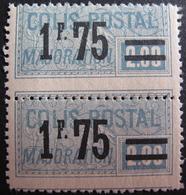 Lot FD/558 - 1926 - COLIS POSTAUX - N°41 NEUF*/** - Cote : 30,00 € SUPERBE PIQUAGE DECALE SUR PAIRE - Parcel Post