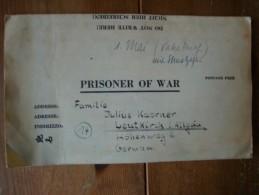 Kriegsgefangenenpost PWE 409 Nürnberg-Langwasser Vom 24.4.46 - Covers & Documents