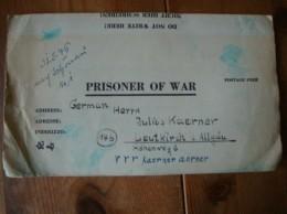 Kriegsgefangenenpost PWE 409 Nürnberg-Langwasser Vom 15.5.46 - Covers & Documents