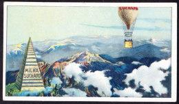 CHROMO Chocolat SUCHARD    Montgolfière      Trip In Air-balloon    Serie 215 - Suchard
