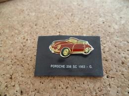 Pin's ** Automobile Porsche 356 SC - 1963 ** Voiture, Auto - Porsche