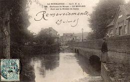 76  Le Houlme. Pont Sur La Riviere De Cailly - Francia