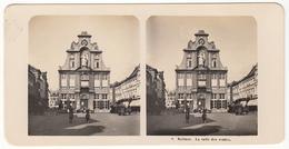 Stereofoto Um 1910 Belgien Malines La Salle Des Ventes - Photos Stéréoscopiques