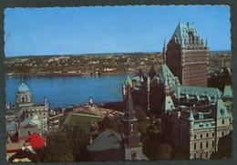Canadá. QC - Quebec City. *L'Hotel Château Frontenac* Circulada 1972. - Québec - La Cité