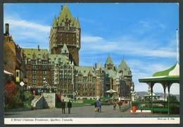Canadá. QC - Quebec City. *L'Hotel Château Frontenac* Nueva. - Québec - La Cité