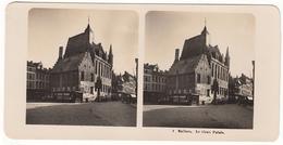 Stereofoto Um 1910 Belgien Malines Le Vieux Palais - Photos Stéréoscopiques