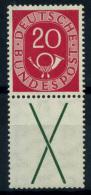 Germania 1951 Mi. S5 Nuovo * 100% 20 Pf, Corno Postale - [7] Federal Republic