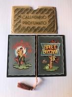 Calendarietto Barbiere Ninfe E Baccanti 1936 - Calendari