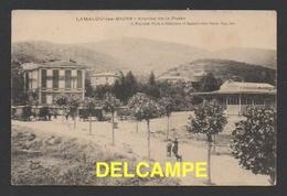 DF / 34 HERAULT / LAMALOU LES BAINS / AVENUE DE LA POSTE / CIRCULÉE EN 1910 - Lamalou Les Bains