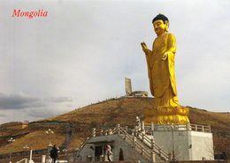 1 AK Mongolei Mongolia * Buddha Statue In Der Hauptstadt Ulaanbaatar Auch Ulan Bator * - Mongolia