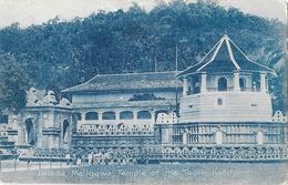 Sri Lanka (Ceylon, Ceylan) - Dalada Maligawa, Temple Of The Tooth, Kandy - The Colombo Apothecaries Co. - Sri Lanka (Ceylon)