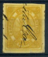 Bolivia 1867 Mi. 3 Usato 100% Condor Nell'ovale, 50 C - Bolivia