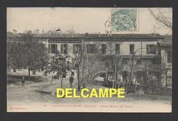 DF / 34 HERAULT / LAMALOU LES BAINS / GRAND HÔTEL DES BAINS / CIRCULÉE EN 1907 - Lamalou Les Bains
